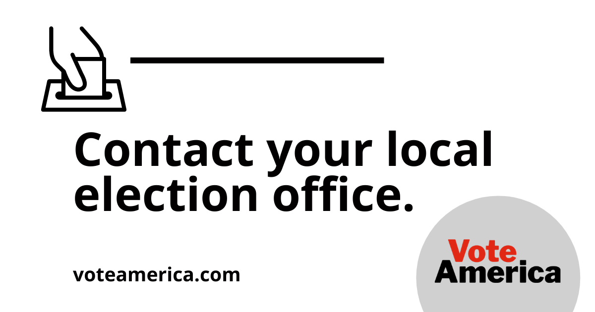 Contact Your Local Election Office